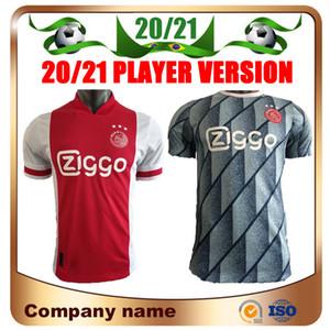 20/21 Ajax Joueur Accueil Version Soccer Jerseys 2020 Ajax loin NERES TADIC DE Ligt ZIYECH football shirt DE JONG PROMES uniformes de football