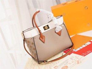 LoVuitto designer Florentinee Giante Monogram Popincourt Haut Tote Bag M40007 Auth 13942 Size:30.5 x 24.5 x 14.0 cm
