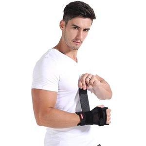 Bandeaux main amovible Réglage Wristband de poignet en acier Brace Support de poignet Splint Fractures Carpal Tunnel Sport Wrap sécurité