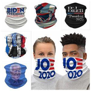 Maschere Stampa Biden equitazione mascherina mascherine sciarpa magica fascia antipolvere Shields doppia esterna Sprot Ciclismo ProtectiveNeck Gear DHD113