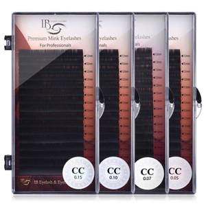 I Beauty Lashes 8mm-16mm Einzelwimpernverlängerung ib Premium-Echt Mink Wimpern CC curl Volume Lashes iBeauty Wimpern verkleben CX200805