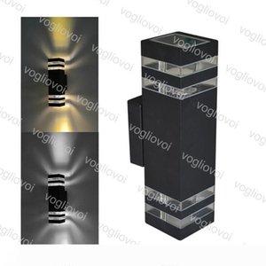 Outdoor Wall Lamp AC85-265V 10W Two Heads Outdoor Lighting Aluminum Light Waterproof Garden Light Exterior Light DHL