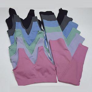 Seamless Femme Sports Suits Yoga Set Women Sportwear Gym Set Leggings Sports Bra Fitness Suit Workout Clothes for Woman