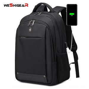 Swiss Army knife fashionable bag computer Bag men usb men's computer waterproof backpack business backpack