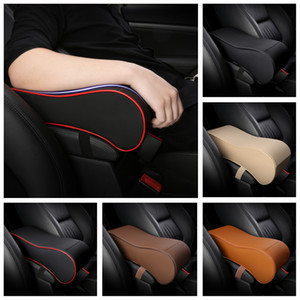 Hot Leather Soft Memory Foam Car Armrest Box Cushion Arm Support Rest Universal Auto Seat Center Armrest Extender Heighten Pad