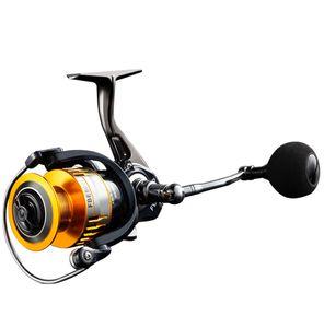 Luckinvoker рыболовная катушка 5: 1 Передаточное отношение Макс Drag 8Kg Кастинг Рыбалка Металл Мультипликаторы Reel Ручка Рыбалка Reel Wheels Gold