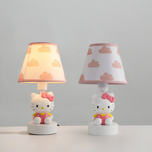 Nordic Children's Room Table Lamp Bedroom Bedside Light American Creative Cartoon Desk Lamp Boy Girl Room led Table Lamps For Bedroom Study