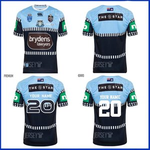 2020 NSW BLUES STATE OF ORIGIN WECHSELN JERSEY Home Jersey 2020 True Blue Captains Rugby-Trikots NSW Australien State of Origin Jersey