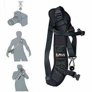 Neue Art und Weise Carry Speed Gürtel weiche Schulter Foucs F1 Schnell schnelle Kamera Einzel Sling Schwarz-Bügel für DSLR