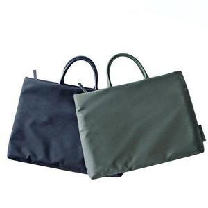 15,6-дюймовый ноутбук портфель Деловые сумки водонепроницаемый противоударный Оксфорд Tote Простые портативные Портфели легкие Компьютерные сумки