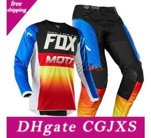 2020 Racing Flex aire travieso Fox Motocross equipos de adultos Combinado determinado Mx Sx Off -road bicicletas Ventilación Set Top Pantalones