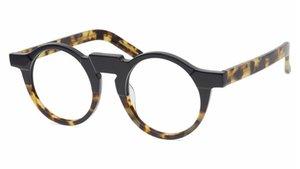 Men Optical Glasses Frames Myopia Eyeglasses Brand Vintage Round Glasses Frames for Women The Mask Irregular Handmade Glasses with Case