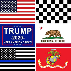3x5 Ft American Flags USA Trump California Home Decorative United States US Flag Banner