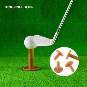 Pratik Doğa Sporları Eğitim vurmak Sürüş Alanı Golf Mat için ucuz Eğitim Yardımları 4 Boyut Dayanıklı T şeklinde Golf Kauçuk Tee Tutucu
