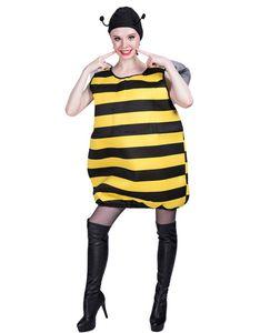 Cosplay Halloween Abelha bonito mangas preto e Costumes Amarelo Casual Costumes Festival engraçado Unisex Stage