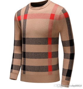 Europa y los Estados Unidos, de alta gama, ropa de punto para hombres, suéter de diseño de desgaste de desgaste de alto gama alta de punto.
