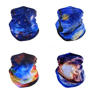 13 Style Camouflage Polyester Scarves Face Dust Mask Outdoor Sport Cycling Bandanas Camping Hiking Washouts Headwear Magic Scarf#840