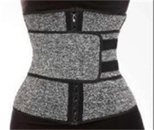 La cintura que adelgaza Fajas Formadores Cremalleras de goma que forma la ropa anillado Banda elástica del corsé de elevación de la cadera de la correa a mejorar la postura 17 5ys C2