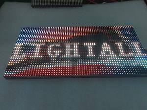 야외 320 * 160mm 32 * 16pixels 3IN1 SMD 광고 미디어의 1/4 스캔 RGB P10 풀 컬러 LED 모듈 LED 디스플레이
