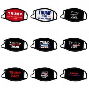 الانتخابات يوم ترامب قناع الوجه الولايات المتحدة أعلام نجوم قابل للغسل الأذن شنقا أقنعة الطباعة Mascarilla نظيفة قابلة لإعادة الاستخدام 2020 الرئيس 2 2BG C2