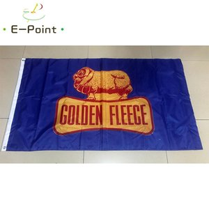 Altın Post Bayrak 3 * 5 ft (90cm * 150cm) Polyester bayrak Banner dekorasyon uçan ev bahçe bayrak Bayram hediyeler