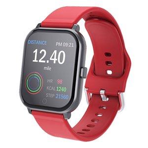 Akıllı İzle Spor Bilezik Erkekler kızlar Gelen Arama GPS Tracker Custom Sport Bant Uyku Smartwatch Nabız iPhone Android IOS dial