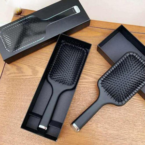 9hd Paddle Brush Hair Air Cushion Comb Brand Comb Detangling Brush Hair Straightener Iron With Retail Box Free Shipping