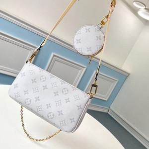 2020 design new original original luxury high quality L and V handbags one-piece bag diagonal bag zipper three-piece wild party