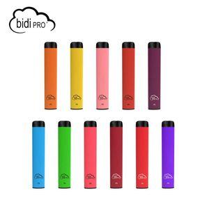 Populaire BIDI PRO dispositif à usage unique Vape 1.5ml capacité Vape 280mAh batterie 300 bouffées boîte d'affichage non-rechargeable vapes 14 COULEURS bar Helix