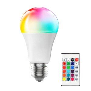 Crestech E27 LED 16 Farbwechsel RGB RGBW Glühbirne Lampe 85-265V RGB LED-Lichtstrahler + IR-Fernbedienung