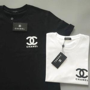 Printemps / Été 2020 col rond coton T-shirt de parfum respirant à manches courtes Version coréenne lâche pour les hommes et les femmes