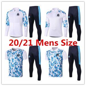 2020 2021 marseille men polo shirt Ocampos long short sleeve tracksuit football jersey Thauvin training suit Germain jacket soccer kits