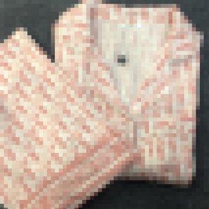Rosa D impresa letra mujer dormir de lujo sedoso de la manga larga para mujer pijama de moda las niñas camisa ocasional Conjuntos Inicio Clotihng