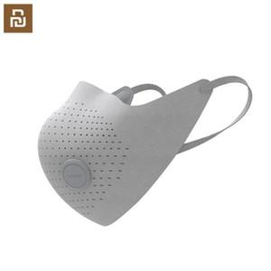 AirPOP Máscara del desgaste Aire PM2.5 anti-niebla Máscara purificador de aire Proporcionar activa de suministro de aire eléctrico de la cara Máscara facial del respirador