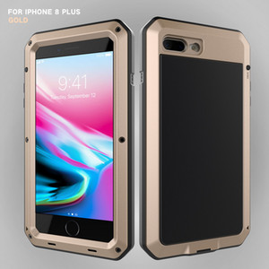 Heavy Duty Protection Doom armor Metal Aluminum phone Case for iPhone 11 Pro XS MAX SE 2 XR 6 6S 7 8 Plus X 5S Shockproof Cover