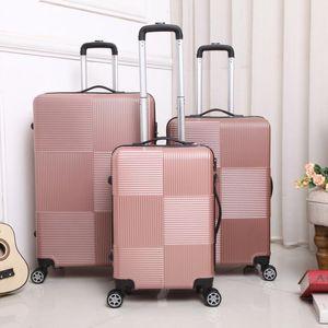 Designer-Trolley, Reisekoffer, 20-Zoll für männliche und weibliche Studenten Boarding Feld Passwort Gepäck, Universal Rad Leder valise