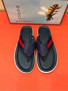 NEW Summer flip flops slippers 207522 Men Slippers Slippers Drivers Sandals Slides Sneakers Leather Slipper