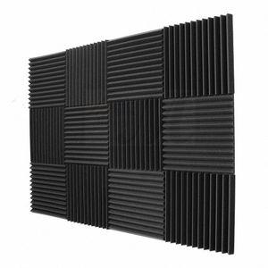 لوحات الصوتية رغوة الإسفنج الهندسة الأوتاد 1inch X 12 بوصة X 12INCH 12 حزمة عازل للصوت لوحات Icub #