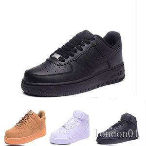 One 1 Dunk Mens Casual Shoes Chaussures Skateboarding Black White Orange Wheat Women Men High Low Trainer Platform Sneaker