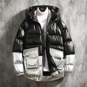 2020 Зимняя куртка Мужчины Повседневная теплая с капюшоном пальто Мужская мода Верхняя одежда Ветровки сгущает ветровки Casaco Мужчина для мужской одежды
