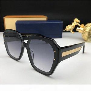 El nuevo diseñador de moda las gafas de sol 1085 sencillo marco de la placa y de alta calidad de la lente UV400 estilo generoso serie