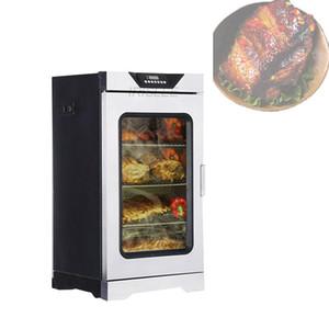 2020 Vente chaude en acier inoxydable multifonctionnel fumeur viande électrique / poisson / poulet / tête de porc machine à fumée de viande