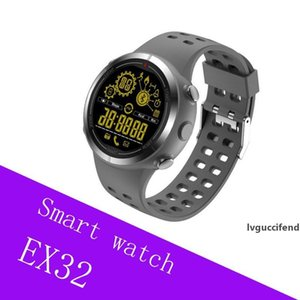 EX32 Bluetooth Smart Watch Touch screen WatchWrist Smartwatch for iPhone samsung anroid phone waterproof bluetooth smartwatch box package