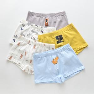 dibujos animados ropa interior de los pantalones cortos de la pequeña hermana peinadas de los niños del algodón de los niños menores de calzoncillos del boxeador de los pantalones de la ropa interior boxer bebé