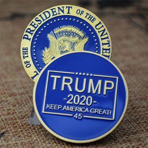 США STOCK Trump Speech Памятная монета Америка президент Trump 2020 Коллекция монет Crafts Trump Аватар Keep America Great Coins