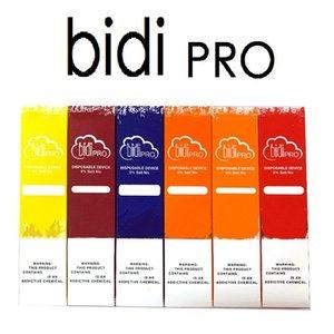 Authentic bidi pro Disposable device bidi stick Capacity 1.5ml Vape Cartridges 280mah Battery Starter Kit 11 colors puff plus