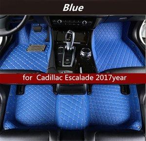 Cadillac Escalade 2017year Kaymaz toksik olmayan paspas araba paspası için