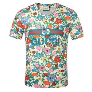 G klassischer Designer kurze Ärmel Luxurious T Shirts Männer Frauen GUCCI Sommerhemd lv Breath LOUIS VUITTON T