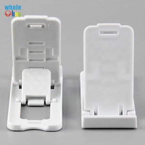 500pcs lot Big bench style Universal Stand Mount Phone Holder For Smartphone Folded Holder Adjustable Support Cell Mobile Phone Holder