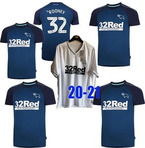 uniforme 20 21 Derby County Football Club maglie calcio 2020 SAGGEZZA Waghorn MARTIN camicia di calcio HAMER ROONEY calcio